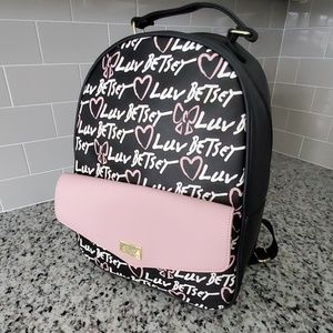 NWT Betsey Johnson Luv Betsey Backpack